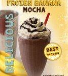 Frozen Banana Mocha from Crimson Cup Coffee & Tea