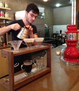 how to build a pour over coffee bar