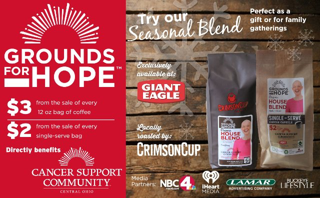 Grounds for Hope coffee raises funds for Cancer Support Community Central Ohio