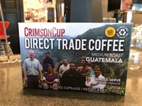 Crimson Cup Direct Trade Guatemala Single-serve Coffee Capsules