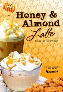 Crimson Cup Honey Almond Latte