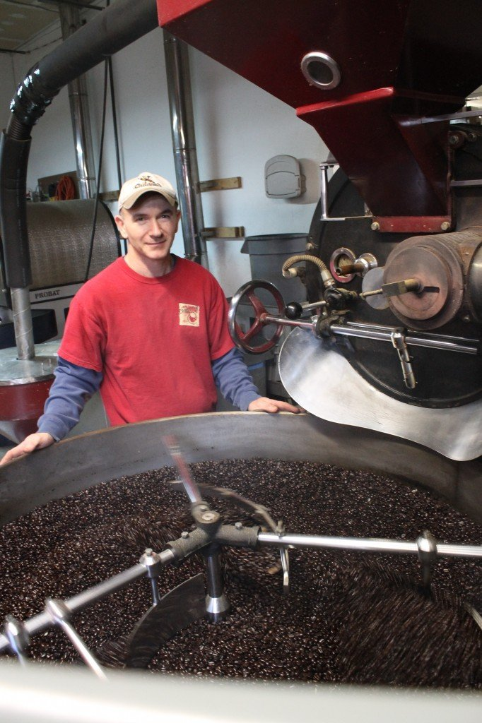 Crimson Cup Master Roaster Dave Rochus