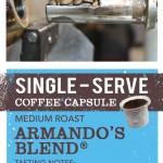 Crimson Cup Armando's Blend Single-Serve Coffee Capsules