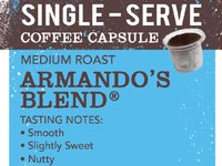 Labels Single Serve Bag Front-Armando's Blend1_Website