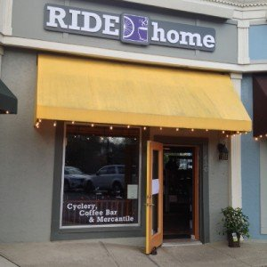 Ride Home Cyclery & Coffee Bar in Worthington Ohio serves Crimson Cup beverages
