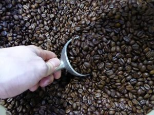 Bulk Crimson Cup coffee beans at Clifton Market in Cincinnati Ohio