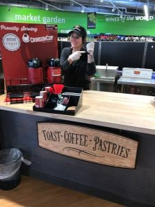 Crimson Cup Coffee available at Clifton Market in Cincinnati