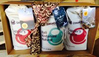 Global Coffee Tour Gift Box Crimson Cup Coffee & Tea
