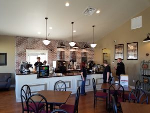 Grinder's Coffee Bennington Nebraska serves Crimson Cup Coffee & Tea