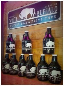 White Buffalo Coffee Bar Altus Oklahoma