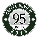 95 rating Kenneth Davids and the Coffee Review