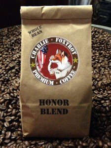 Charlie Foxtrot Coffee Honor Blend - America's patriotic coffee