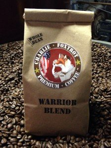 Charlie Foxtrot Coffee Warrior's Blend - America's patriotic coffee