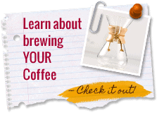 Learn About Brewing Your Coffee