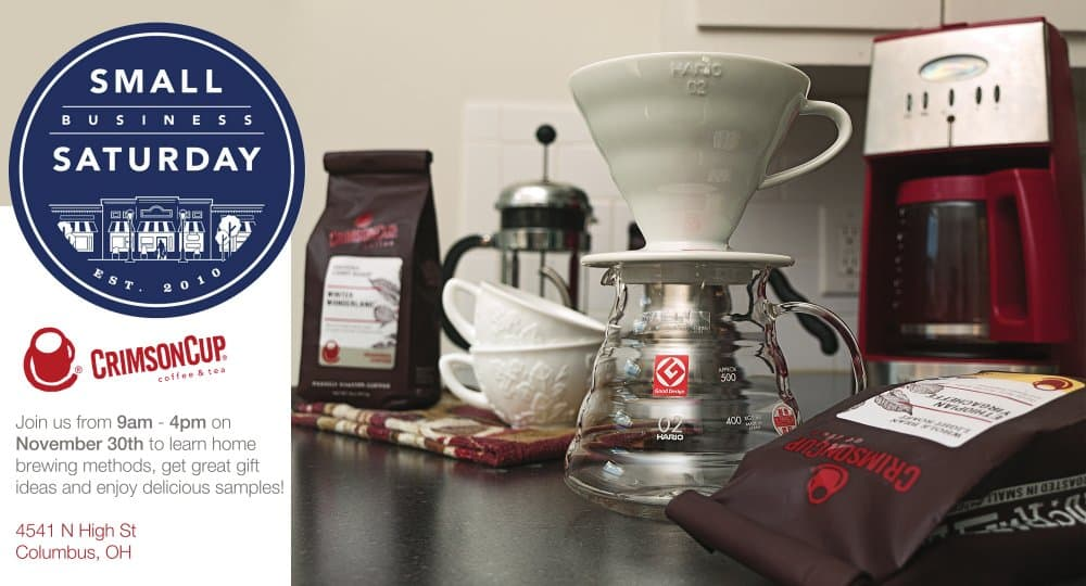 Crimson Cup Coffee House Celebrates Small Business Saturday