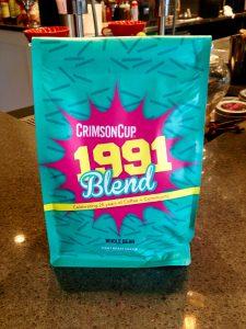 1991 Blend Crimson Cup Coffee & Tea Columbus Ohio