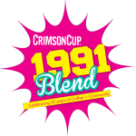 1991 Blend Crimson Cup Coffee & Tea Columbus Ohio