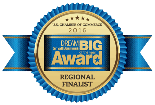 U.S. Chamber of Commerce Small Business Dream Big Award logo