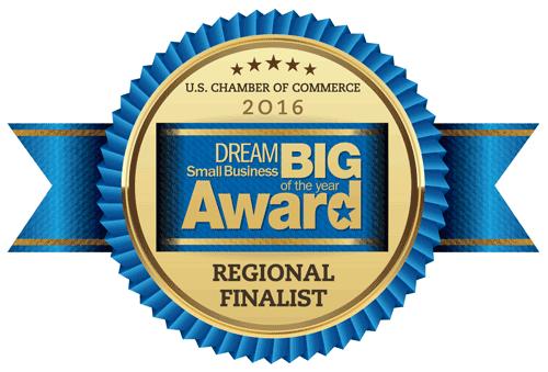 U.S. Chamber of Commerce Small Business Dream Big Award logo