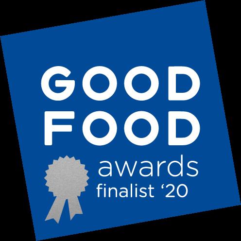 Good Food Awards 2020 Finalist Seal