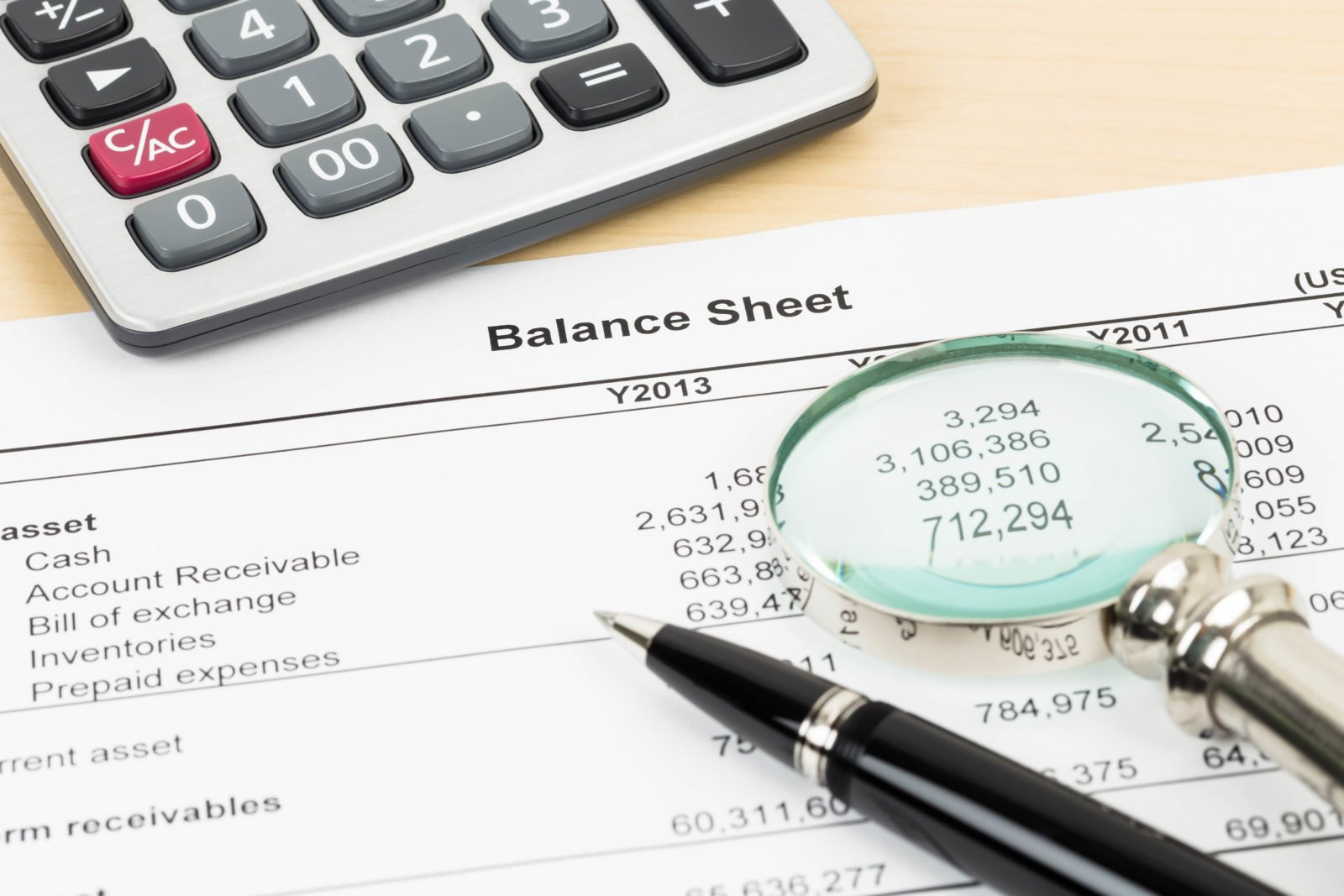 Balance Sheet Financial Statement