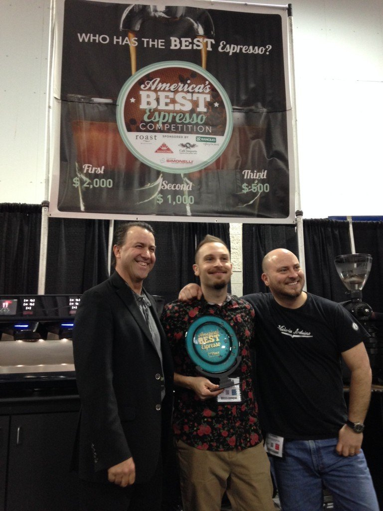 Wayfarer Blend from Crimson Cup Coffee & Tea Takes Second Place at America's Best Espresso Regional Championship