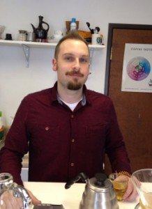 Crimson Cup's Brandon Bir earns Specialty Tea Certifications