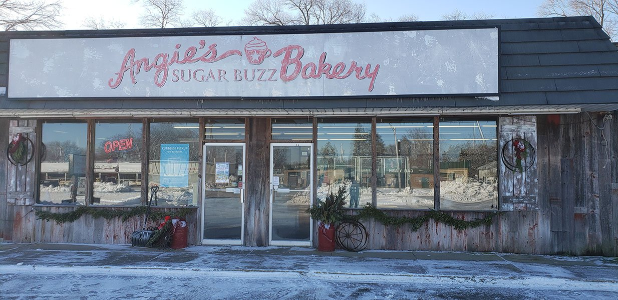 Angie's Sugar Buzz Bakery in Sandwich Illinois