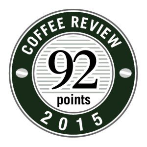 Wayfarer Blend from Columbus Ohio coffee roaster Crimson Cup Coffee & Tea won a 92 rating from Kenneth Davids and the Coffee Review