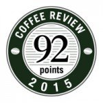 Crimson Cup Wayfarer Blend earned 92 points from Kenneth Davids and the Coffee Review