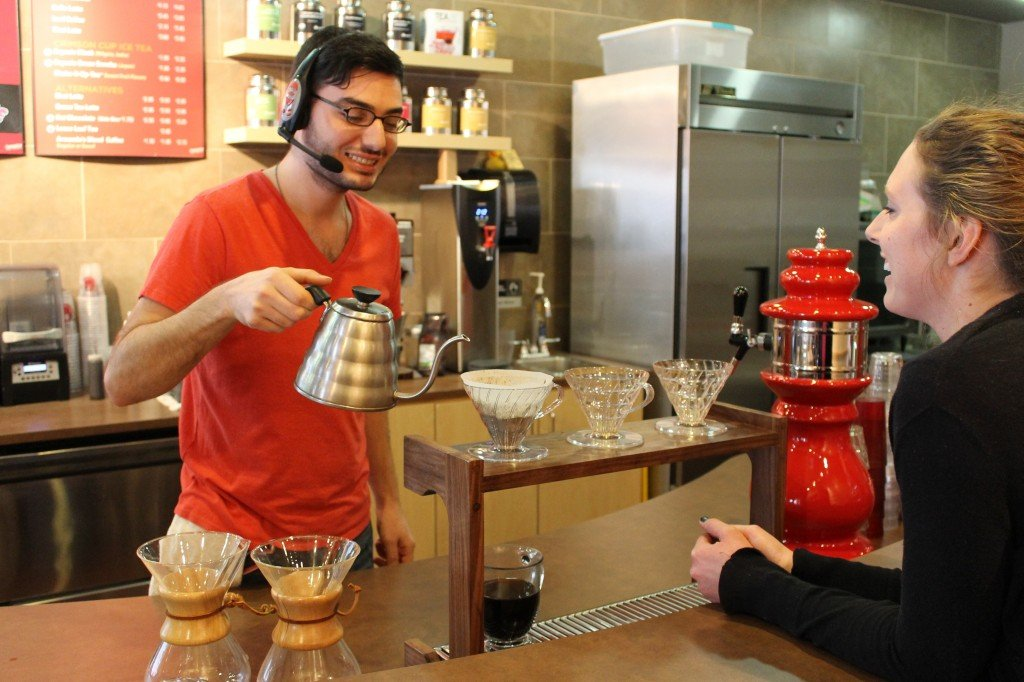 Crimson Cup Barista Customer Service