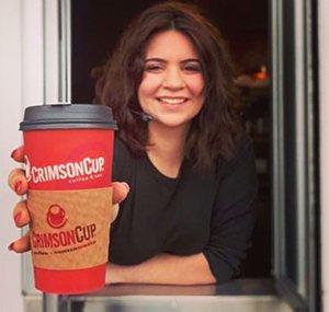 Crimson Cup Coffee Houses Drive thru