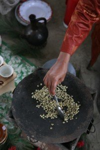 Ethiopian Coffee Cooking