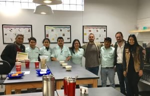 Peru NARSA coffee co-op at Crimson Cup Innovation Lab