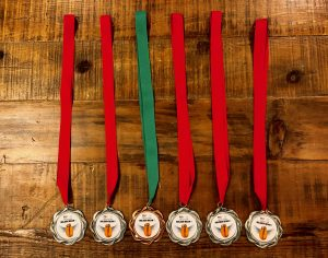 Crimson Cup Golden Bean North America 2018 Medals