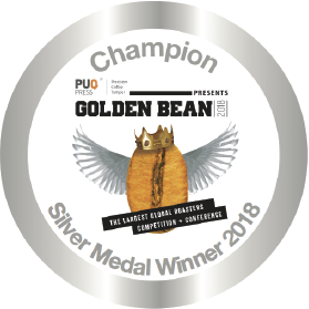 Golden Bean North America Award logo