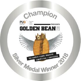 Golden Bean North America Award logo