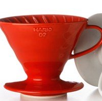 Hario V60 Coffee Dripper - Red