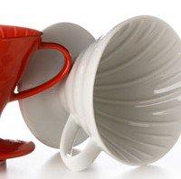 Hario V60 Coffee Dripper - White