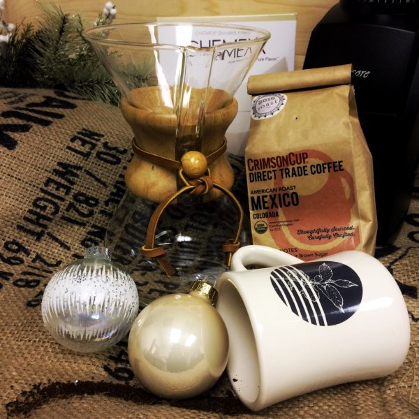 Chemex Gift Set from Crimson Cup Coffee & Tea