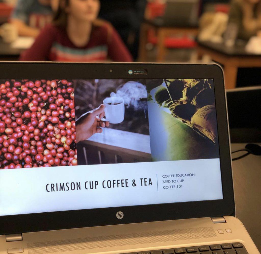 Crimson Cup Hands-On Training