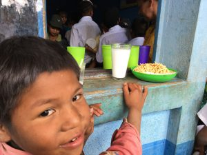 Crimson cup commits $3,000 to feed children in Olopa, Guatemala