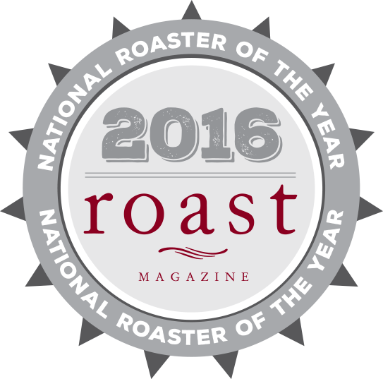 Roast magazine Roaster of the Year logo