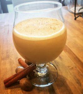 Pumpkin coffee cocktail
