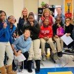 Ohio Avenue Elementary School students