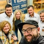Olopa Co-op members visit Crimson Cup Innovation Lab