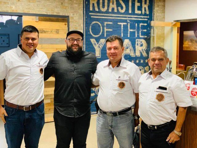 Guatemala coffee farmers visit Crimson Cup