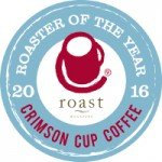 Crimson Cup is 2016 Roaster of the Year