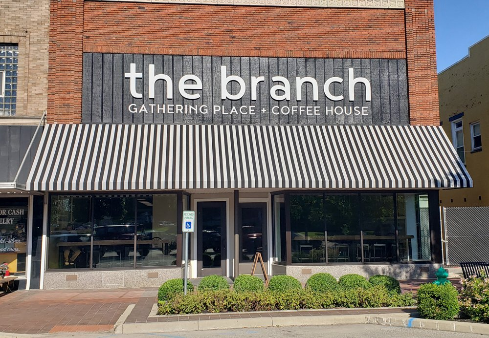 Welcome to The Branch Gathering Place + Coffee House