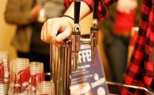 Crimson Cup Nitro on tap at Columbus Underground Best Bites Brunch